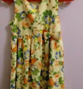 Платье нарядное + кофточка
