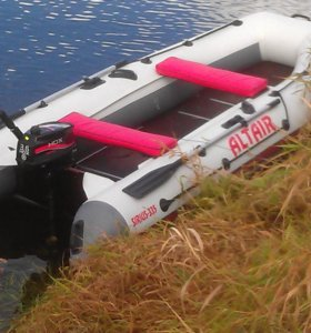 Надувная лодка пвх с мотором