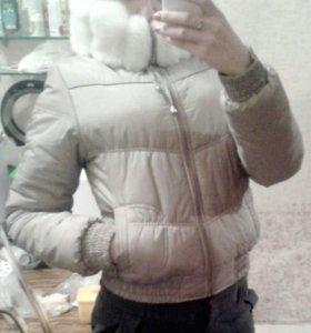 Зимняя куртка, новая очень теплая