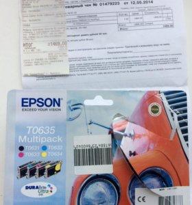 Картридж Epson TO635 Multipack