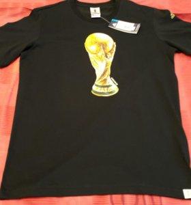 Футболка мужская Адидас. Новая.  48 размера.