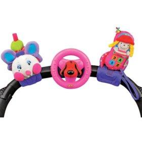 Набор развивающих игрушек для коляски новый