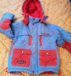 Зимняя курточка и комбез