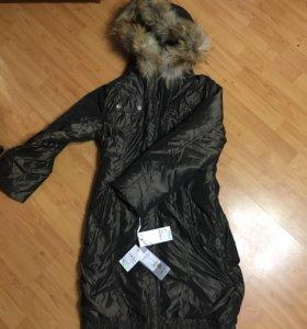 Удлинённая куртка
