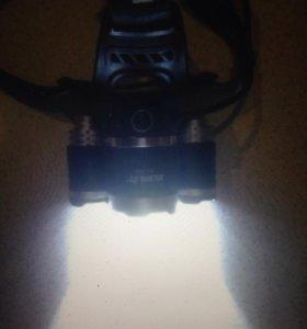 Новый налобный светодиодный фонарь 7000 Lm