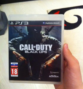 Call of duty :black ops на play station 3