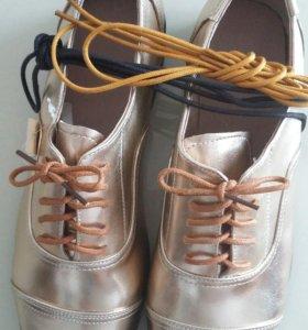 Ботинки р 40-41новые