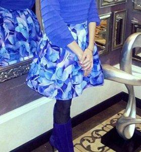 костюм юбка+свитер