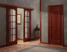 Входные межкомнатные двери установка