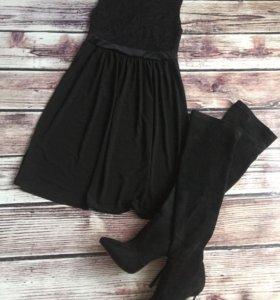 Коктейльное платье новое