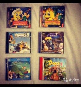 Компьютерные игры ( диски )
