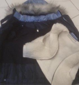Куртка 98 зима новая