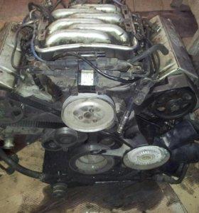 Двигатель Ауди