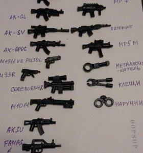 Лего(Lego) оружие