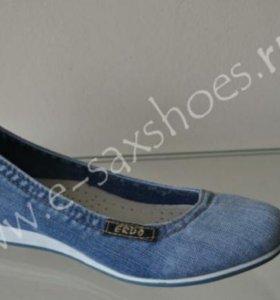 Туфли новые джинсовые