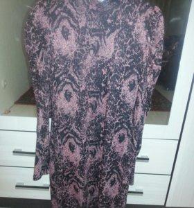 Очень теплое платье