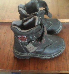 Демисезоные ботинки.