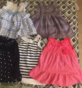 7 платьев на 1-2 года