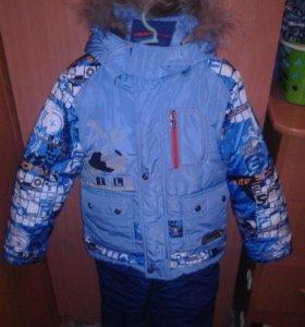 Костюм зимний,р-р110-116.