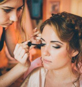 Прически и макияж на свадьбу