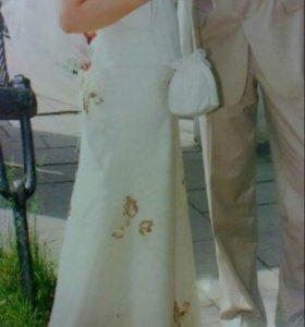 Платье свадебное 46-48размер