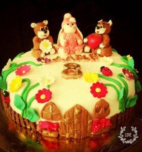 Торт на заказ 750 кг