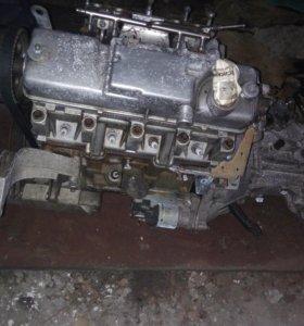 Двигатель+ Коробка (1.6 8клапанный+ коробка Рено)
