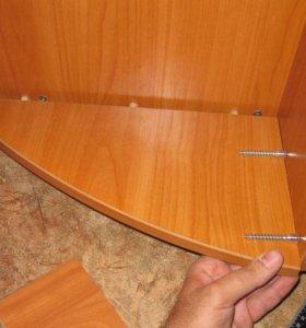 Ремонт мебели, сборка шкафов и кроватей, кухонь.