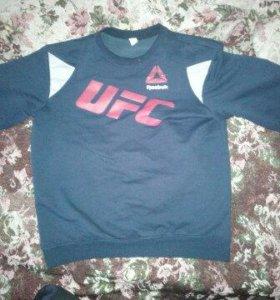 Толстовка UFC синяя