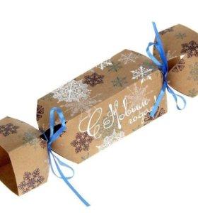 Складная коробка-конфета