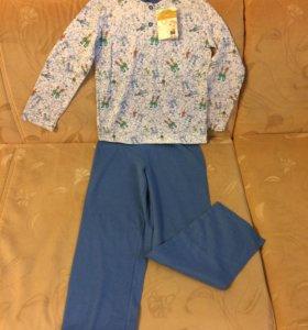 Пижама новая р.128
