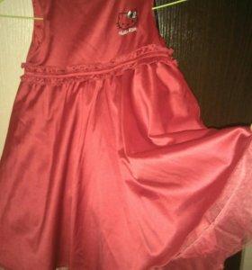 Платье h&m 104 раз.