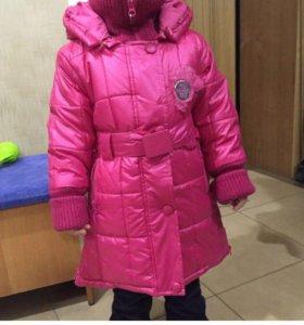 Зимнии куртки новые 98, 104 и 110