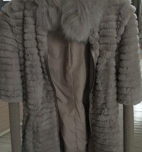 Курточка из меха кролика,