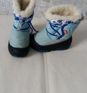 Зимние ботинки,demar