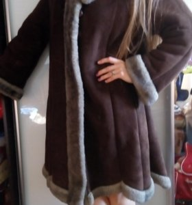 Дубленка, зима, пальто