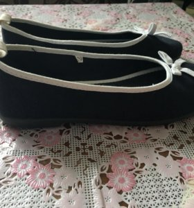 Туфли Балетки текстиль 39 размер