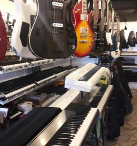Цифровые фортепиано Casio и Yamaha