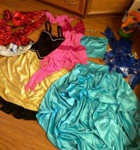 Платья для сцены или бальных танцев 42