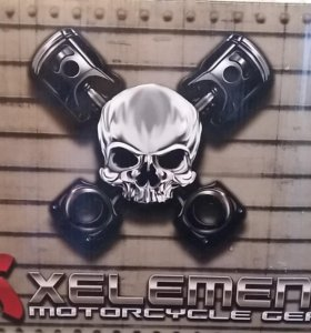 "Мотошлем ""Xelement FX Flat Black Modular Helmet"""