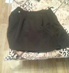 Юбка черная