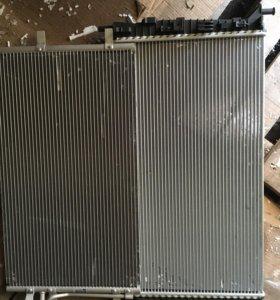Радиатор двигателя и кондиционера форд фокус 2