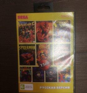 Катридж для Sega 25 игр в 1
