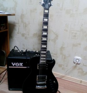 Рок гитара,комбик!