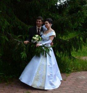 Свадебнле платье