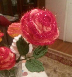 Вязынные розы