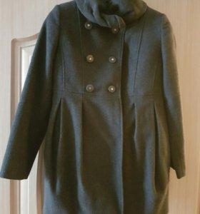 Пальто для девочки 10-11 лет
