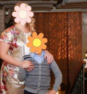 """Платье нарядное летнее для беременных """"Буду мамой"""""""
