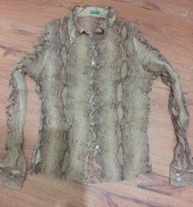Блузка / рубашка 100% шелк