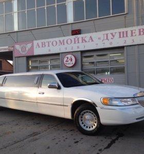 Прокат лимузина Lincoln Town Car на свадьбу